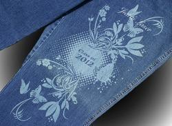 Laser Engraving On Denims