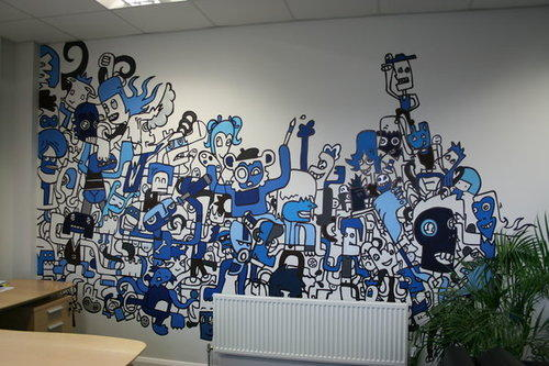 . Designer Wall Mural   View Specifications   Details of Wall Murals