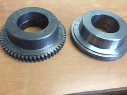 flange and plain gear wheel