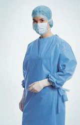 Disposable Surgical Gown, Size: Large