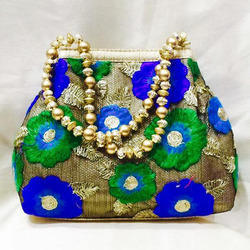 Floral work Designer Purse