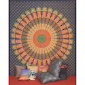 Indian Handmade Mandala Printed Wall Decor Tapestries