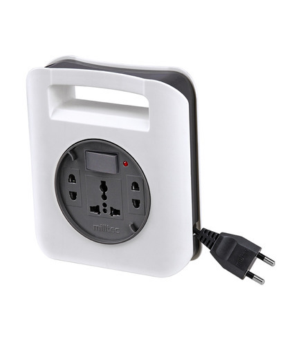 2 Pin Genius Extension Box With Indicator (5 Mtr Wire)