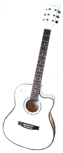 Havana Guitar In White Color At Rs 5700 Piece Acoustic Guitar