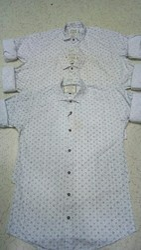 Cotton Men's Casual Print Shirts