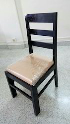 Modern Black Wooden Chair, For Home