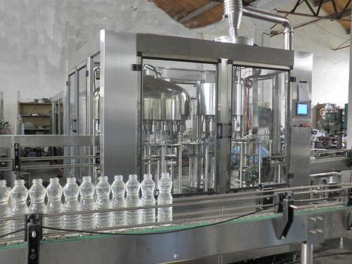 Rinsing Filling And Capping Machine - Beverages Filling