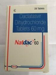 Daclatasvir Dihydrochloride Tablet 60mg - Natdac
