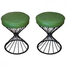 Wrought Iron Stool