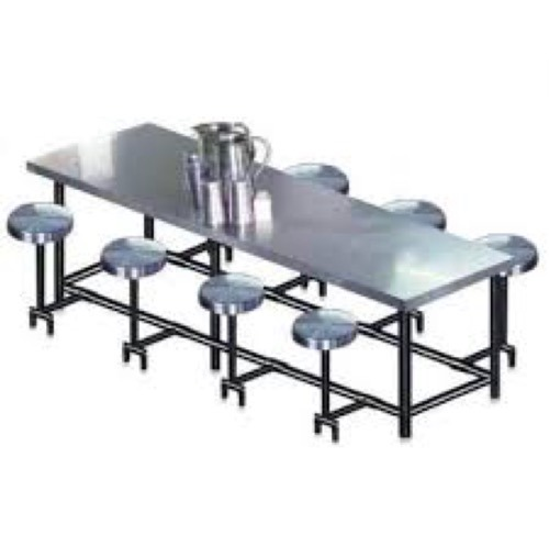 Stainless Steel Dinning Table 8 Seater Ss Dining Table