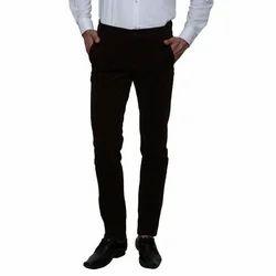 Cotton Black Trouser