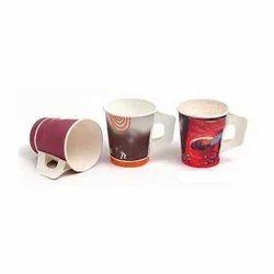 Printed Handle Paper Cup