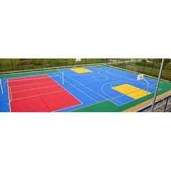 Multi Section Play Court
