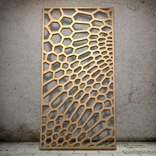 Genoeg Pale Yellow Laser Cut Wood Panel, Rs 600 /square feet, Unique #TT38