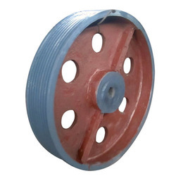 Cast Iron Haf Solid Belt Pulley