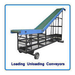 Truck Loading/ Unloading Belt Conveyor