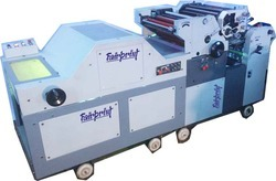 Double Color Satellite Poly Printing Machine