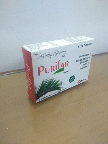 Blood Purifier Herbal Capsule, 3x10, Packaging Type: Box