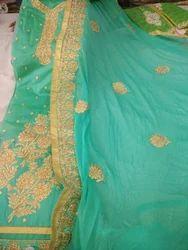Girls Designer Salwar Suit Material