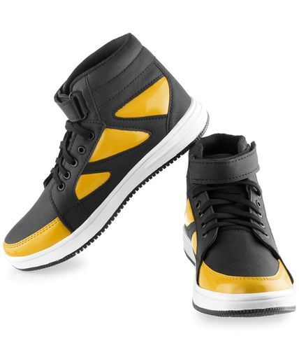 Casual Yellow High Top Shoes at Rs 275