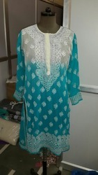Chikan Kurtis Suppliers Manufacturers Amp Dealers In Delhi