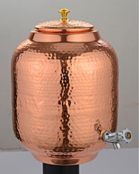 Copper Water Matka 8 L for Water Storage