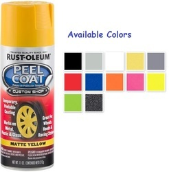 Rust Oleum Automotive Peel Coat Spray Paint
