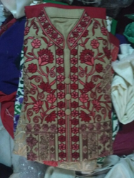 Embroidered Lady Suit