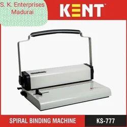 Spiral Binding Machine, Automation Grade: Manual