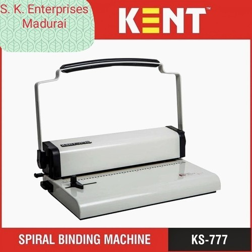 Spiral Binding Machine Wholesale Trader