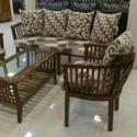 Wooden 5 Seater Sofa Set, Warranty: 5 Years