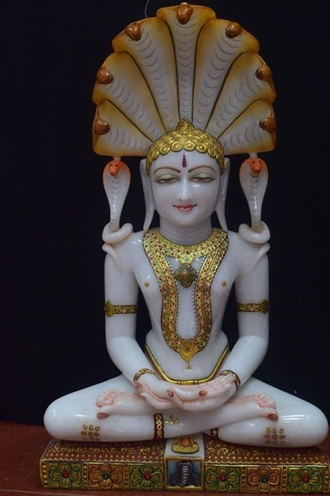 Parshwanath Marble Statue