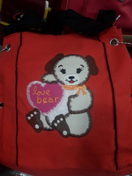 Teddy Bear School Bag