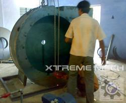 Industrial Centrifugal Air Blower With FRP Coating
