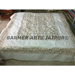 Bed Cover Silk Woolen Embroidery