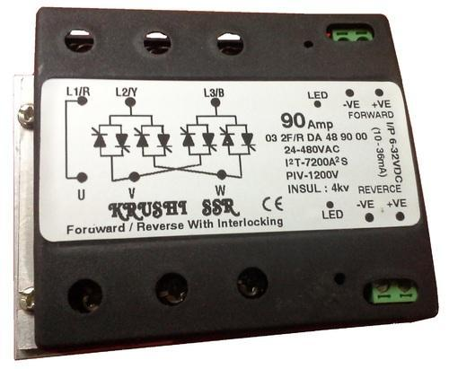 Forwardreverse Solid State Relay ForwardReverse 50Amp DC to AC