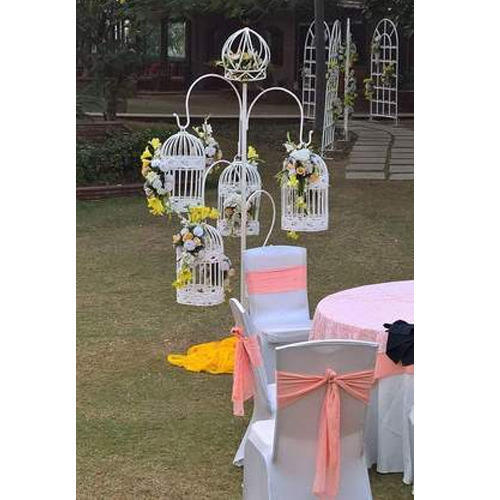 Wedding flower decoration cage with stand unity handicrafts wedding flower decoration cage with stand junglespirit Image collections