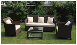 Garden Rattan Furniture - Rattan Sofa Set