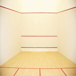 Hard Plaster System for Squash Court