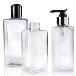 Square Hair Oil Pet Bottles