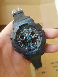 Black Casio gshock G-Shock Mens Wrist Watches