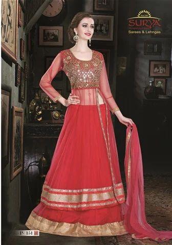 Elegant Indo Western Long Dress a4e572583