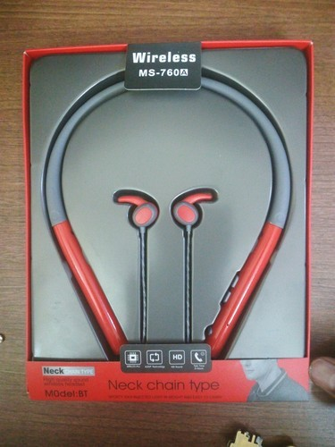 73ed6bbaccf Red Sports Bluetooth Headphone, Rs 1050 /piece, Kanchan Traders | ID ...