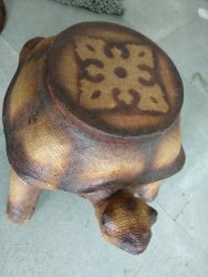 Sculpture Tortoise Seating Stool
