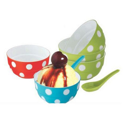 Plastic Ice Cream Bowl