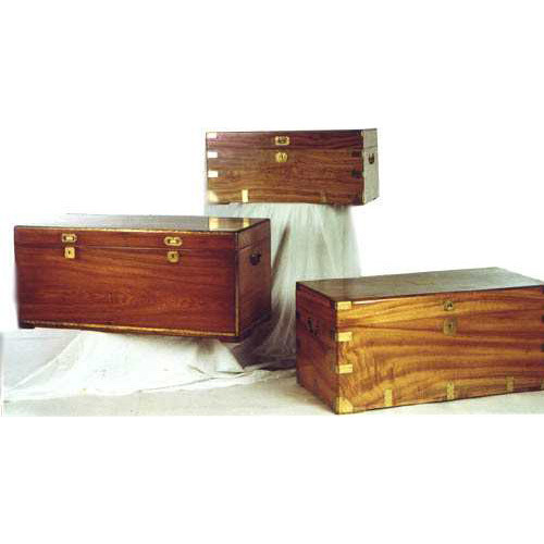Wood Camphor Chests Antique Colonial Furniture Colaba