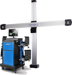 Ultrasonic 3D Wheel Alignment