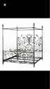 King Iron Bed