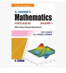 S Chands Mathematics Book  For Class Xii