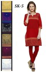 Printed Cheap Colorful Kurtis